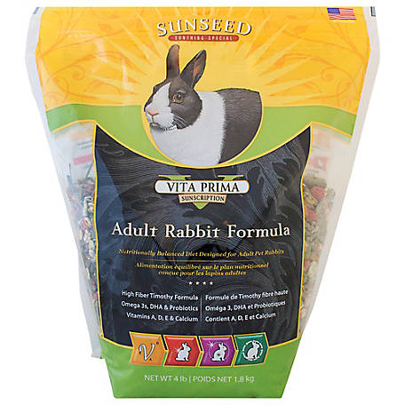 Sunseed Vita Prima Adult Rabbit Food, 49080