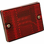 Blazer C523R 2-7/8 in. Rectangular Clearance/Side Marker, Red