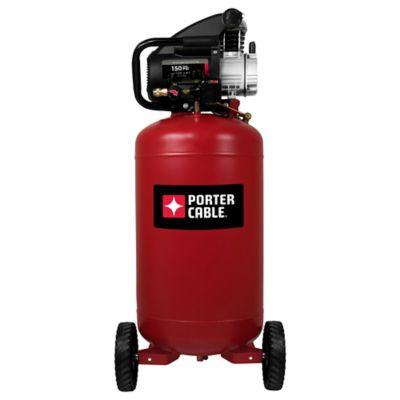 portercable 24gallon portable air compressor