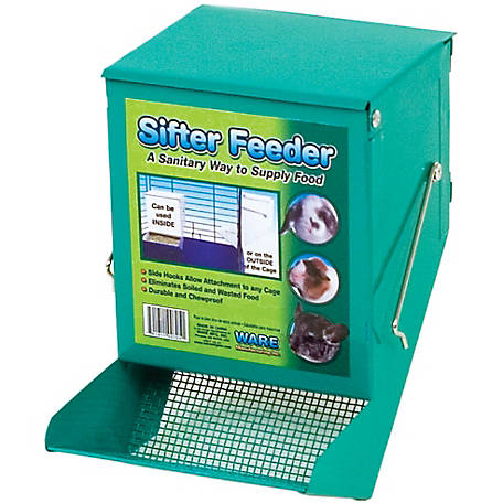 Ware Manufacturing Sifter Feeder with Lid, 5 in.
