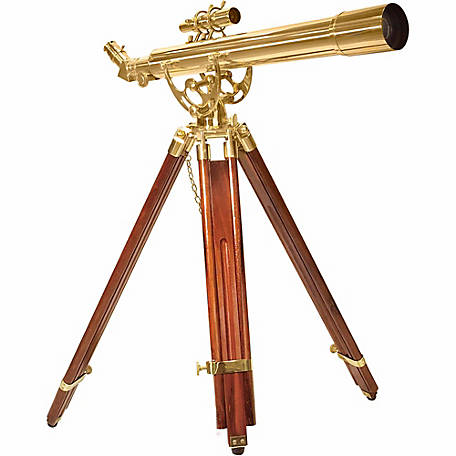 Barska AE10822 28 Power 70060 Anchormaster Brass Telescope
