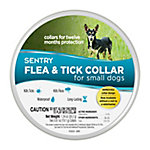 Sentry Flea & Tick Collar for Dogs, Small, Pack of 2