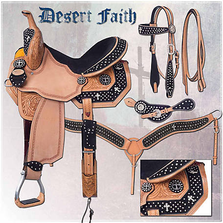 Silver Royal Desert Faith Barrel Saddle Package at Tractor Supply Co