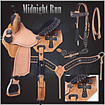 Silver Royal Midnight Run Collection Saddle Package