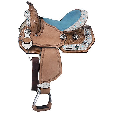 Silver Royal Desert Hope Barrel Saddle at Tractor Supply Co