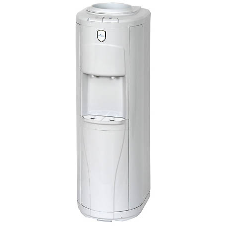 Vitapur VWD2265W Top Load Floor Standing Water Dispenser (Room & Cold) with Piano Push Buttons