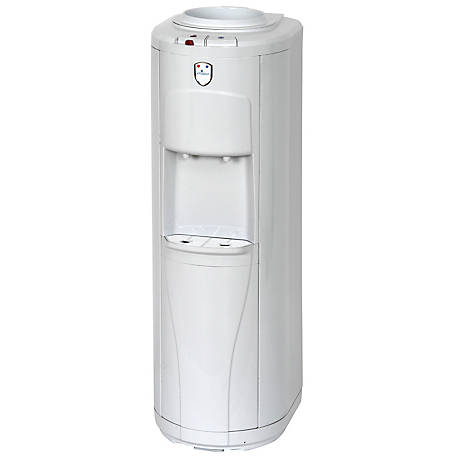 Vitapur VWD2266W Top Load Floor Standing Water Dispenser (Hot & Cold) with Piano Push Buttons & 24/7 Heating System