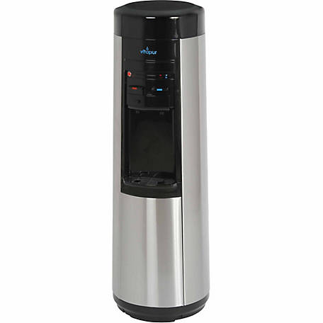 Vitapur VWD9506BLS Floor Standing Point-of-Use Water Dispenser (Hot/Room/Cold), On-Demand Kettle Feature Heating System