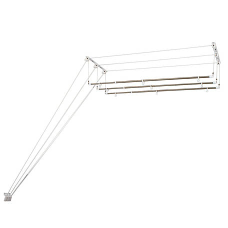 Greenway GCL3LL Laundry Lift 3-Bar Ceiling-Mounted Clothes Dryer