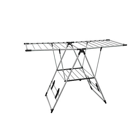 Greenway GFR0501SS Stainless Steel Indoor/Outdoor X-Large Drying Center with Bar Shelf