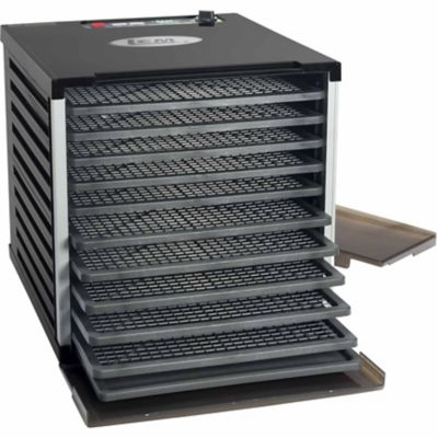 LEM 10-Tray Double Door Countertop Dehydrator