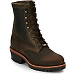 Chippewa Men's Chocolate Apache Utility Logger 8 in. Boot