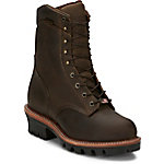 Chippewa Men's Bay Apache Logger Steel Toe 9 in. Boot