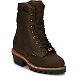 Chippewa Men's Bay Apache Waterproof Insulated Super Logger 9 in. Boot