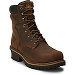 Chippewa Men's Tough Bark Oblique Steel Toe Logger 8 in. Boot