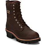 Chippewa Men's Briar Insulated Waterproof Steel Toe Logger 8 in. Boot