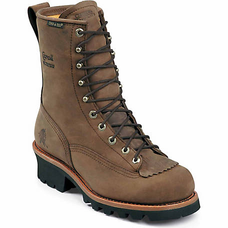 Chippewa Men's Bay Apache Waterproof Logger 8 in. Boot