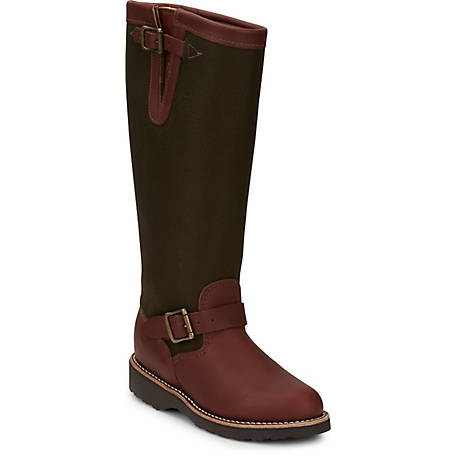 Chippewa Women's Brown Espresso Viper Cloth Snake 15 in. Boot