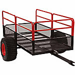Yutrax X2 Steel Mesh 60 in. x 31 in. 1,250 lbs. Capacity Utility Trailer