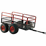 Yutrax X4 Steel Mesh 4-Wheel Utility Trailer