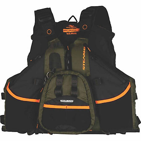 Stearns Hybrid Fishing/Paddle Vest, Green Line