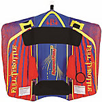 Full Throttle Speed Ray 1, 1 Rider, Blue/Red