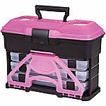 Flambeau T3 Front Loader Tackle Box, Pink