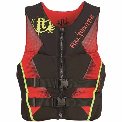 Buy Full Throttle Men's Hinged Rapid-Dry Flex-Back Life Jacket Online