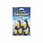 Gamakatsu Worm Hook Assortment, Pack of 25, 257000
