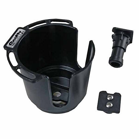Scotty Cup Holder with Rod Holder Post