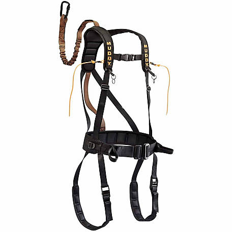 Muddy Safeguard Harness, Black, S-M