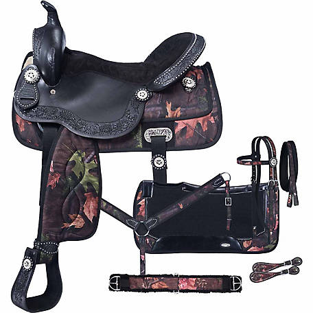 Tough-1 Eclipse Pro Trail Saddle 7-Piece Package