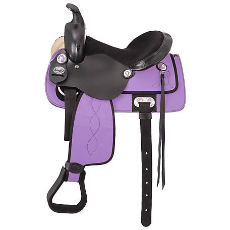 Tough-1 King Series Krypton Western Saddle