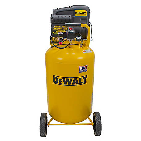 DeWALT 1.9 RHP 30 Gallon Vertical Portable Air Compressor