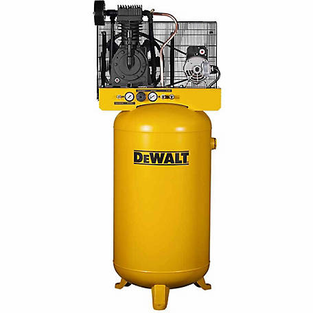 DeWALT 5.0 RHP 80 gal. Vertical Stationary Air Compressor, DXCMV5048055