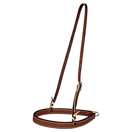 Weaver Leather Bridle Leather Noseband, Brown