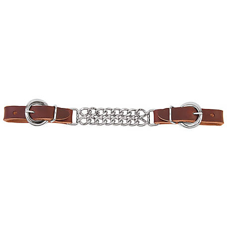 Weaver Leather Working Cowboy 4-1/2 in. Double Flat Link Curb Strap