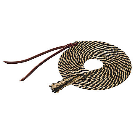Silvertip Get Down Rope, Solid Braid, 1/4 in., Black/Tan