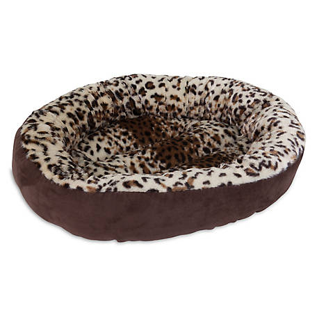 Aspen Pet 18 in. Round Bed, Animal Print