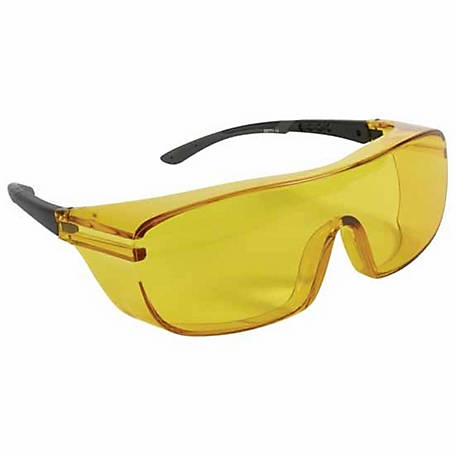 Allen Ballistic Over-Glasses, Yellow Lens