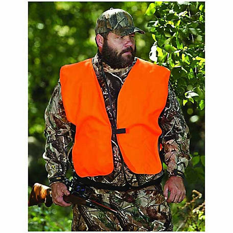 Allen Orange Vest for Hunters, Size: 60 in. Big Man, Adult