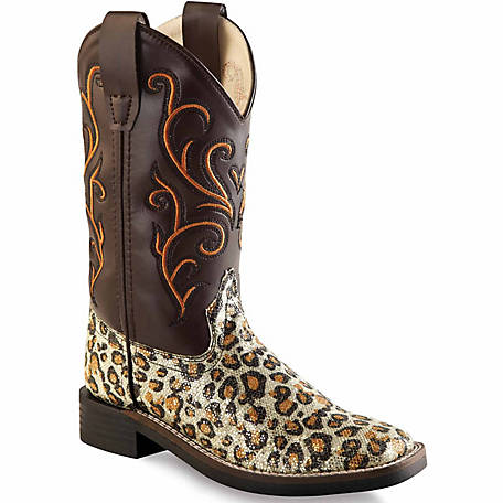 Old West Girl's 9 in. Western Boots