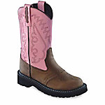 Old West Girl's 8-1/2 in. Tubbies Cowboy Boots