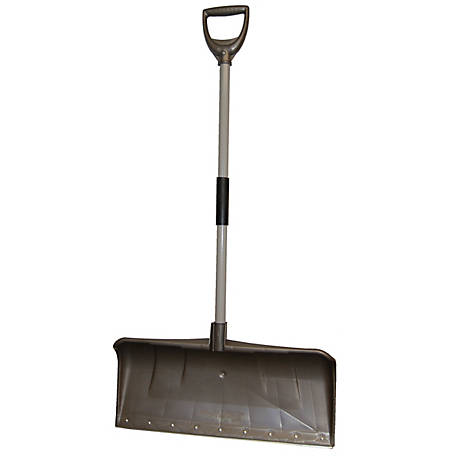 Rugg Pathmaster Ultra Pusher Shovel, 35PLW-S