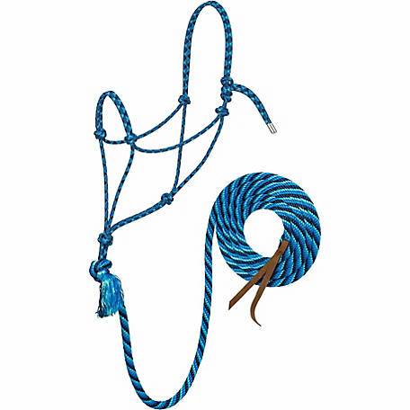 Silvertip No. 95 Rope Halter with 12 ft. Lead