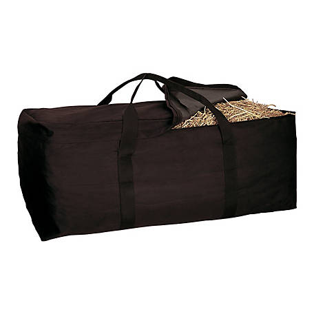 Weaver Leather Hay Bale Bag, Black