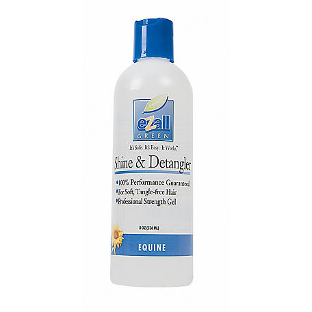eZall Shine and Detangler, 8 oz.