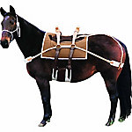 Weaver Leather Pack Saddle with Leather