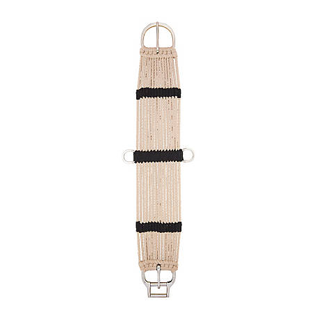 Weaver Leather Rayon 15-Strand Straight Smart Cinch with New and Improved Roll Snug Cinch Buckle, 28 in.