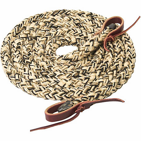 Silvertip Hollow Braid Roper Rein, 5/8 in. x 8 ft.